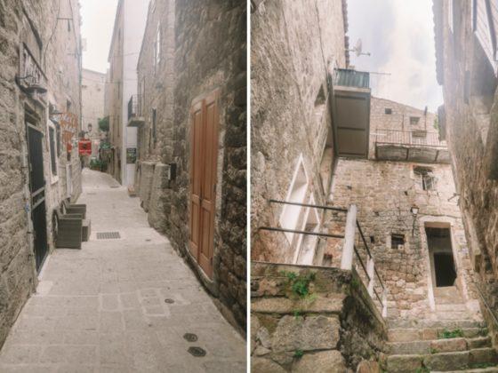 ruelles sartène