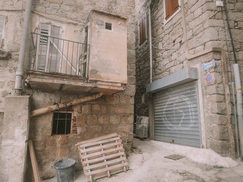 vieille maison sartène