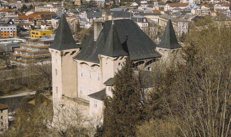 château de Manuel de Locatel albertville