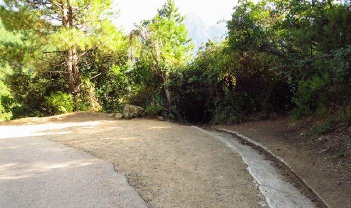 départ randonnée purcaraccia