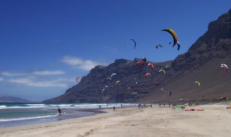 kitesurf plage de famara