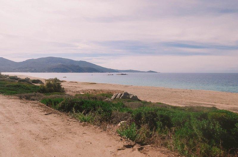 route des plages propriano