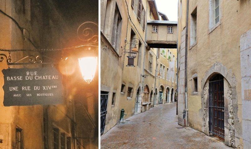 chambery vieille ville