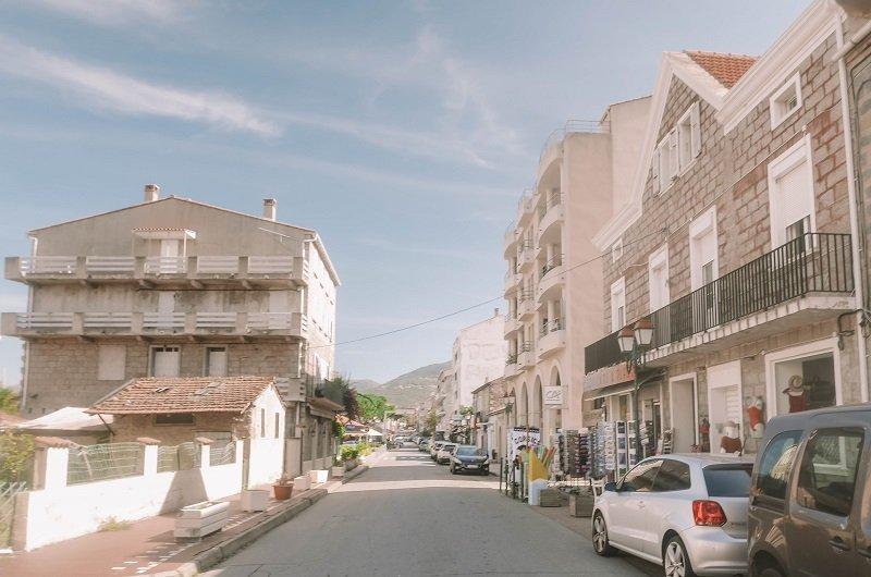 rue principale propriano