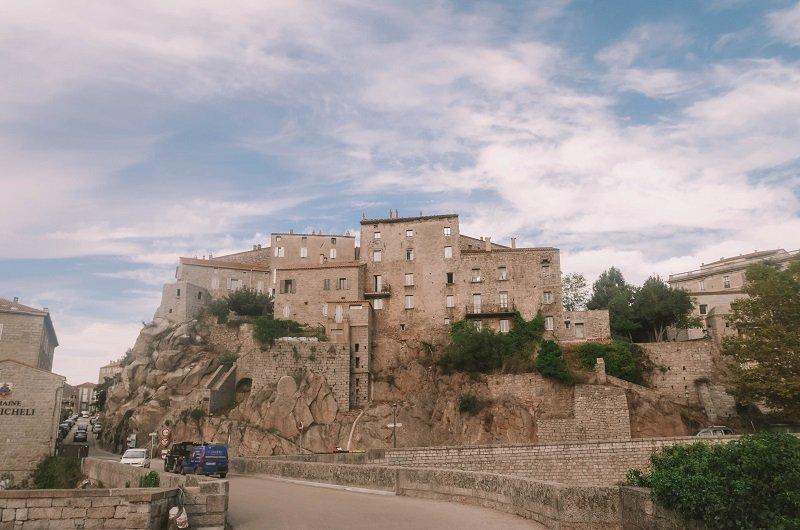 vieille ville sartène