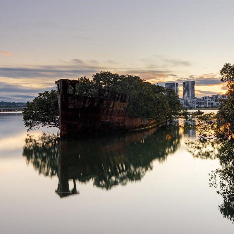 homebush bay bateau
