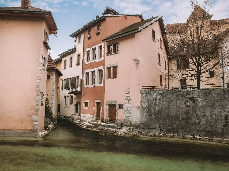 photos de la vieille ville d'annecy