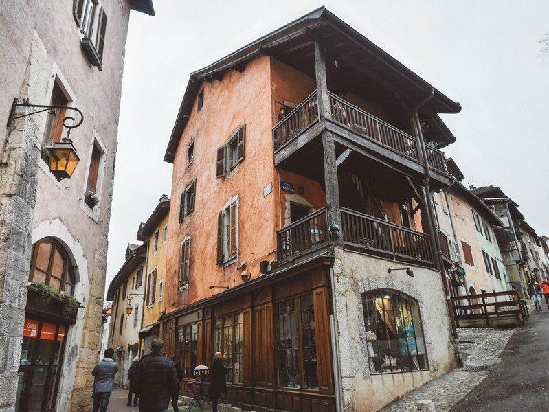 photos vieille ville annecy
