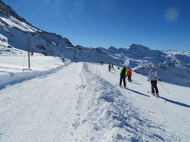 piste luge val thorens