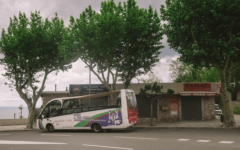 bastia à ciel ouvert bus