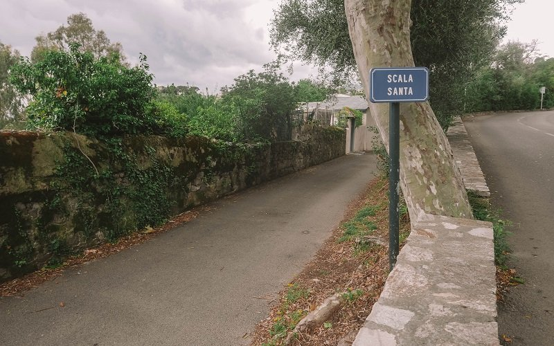 chemin scala santa