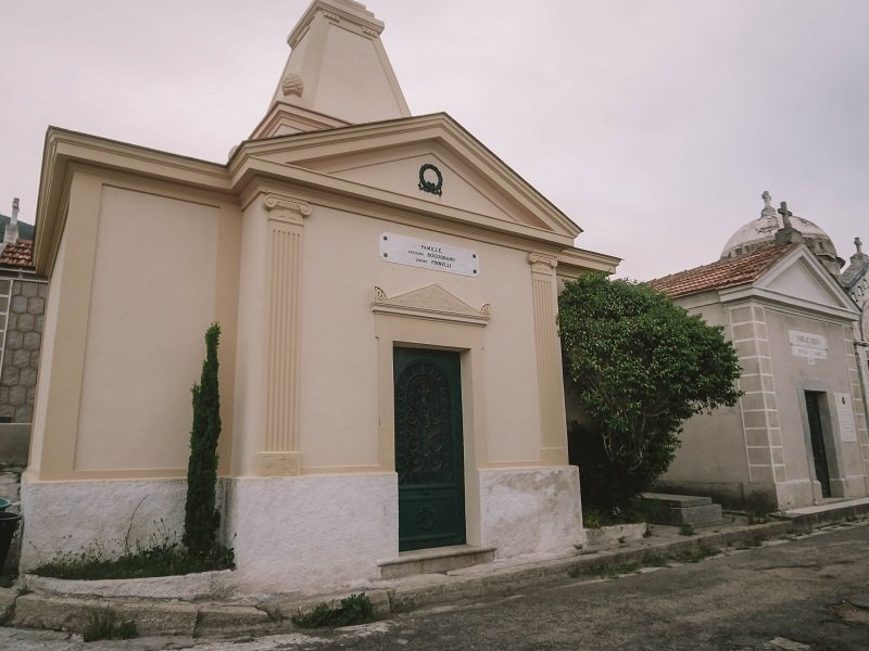 cimetière marin à ajaccio