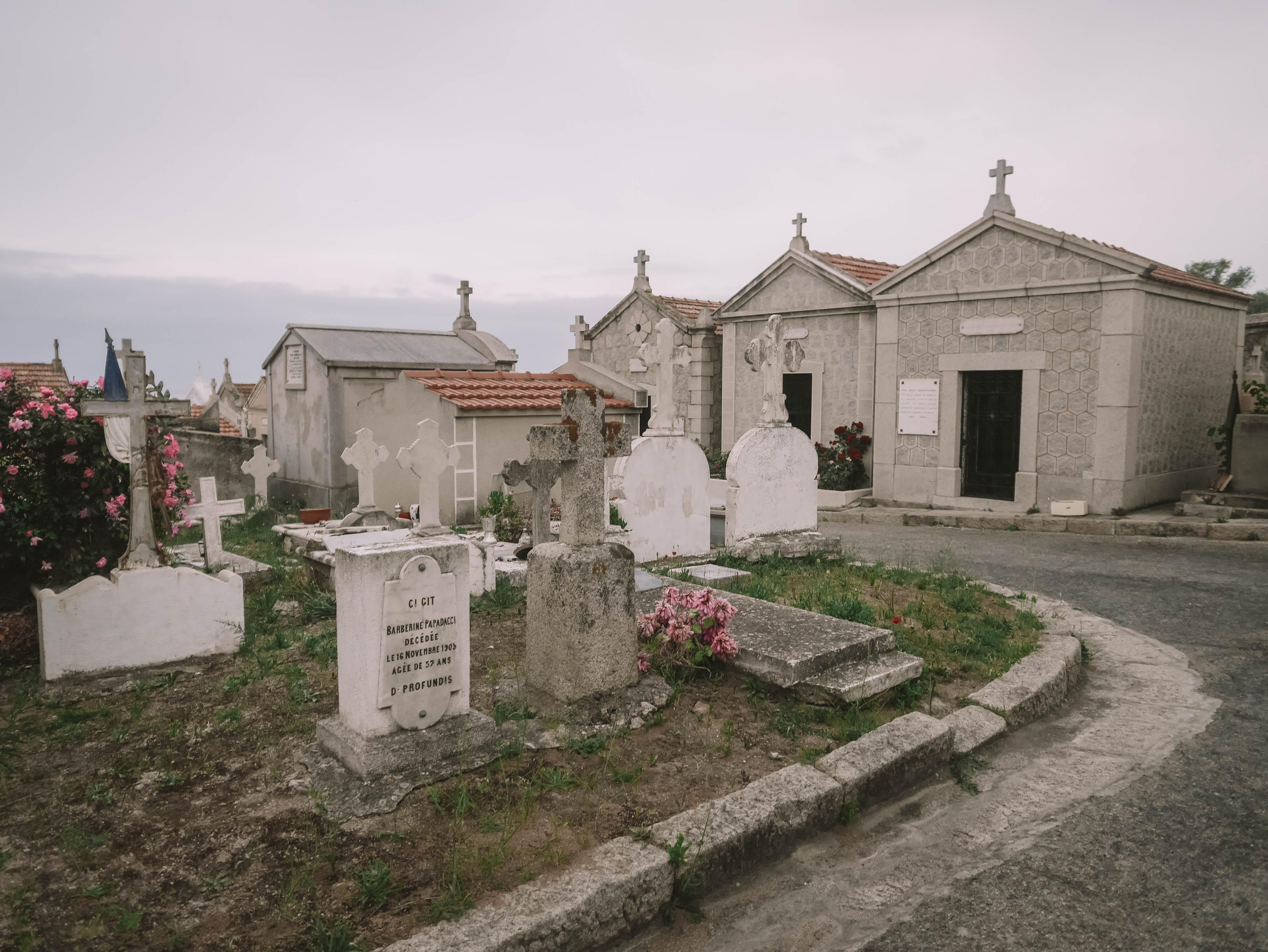 cimetière marin ajaccio