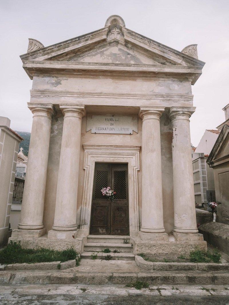 cimetière marin d'ajaccio