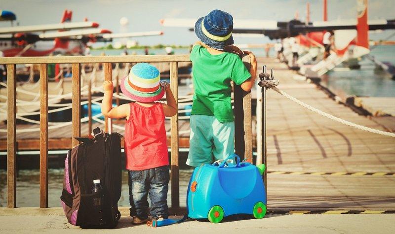 conseils pour voyager avec des enfants