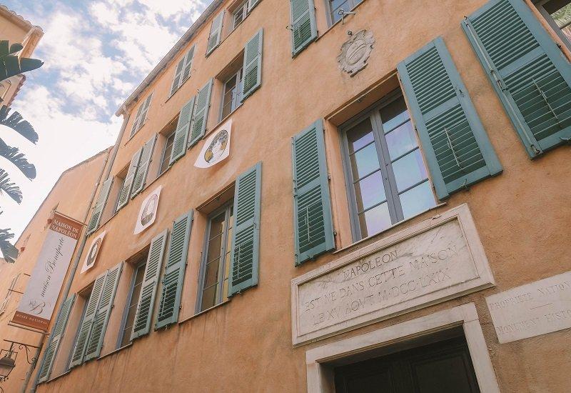 musée napoleon ajaccio