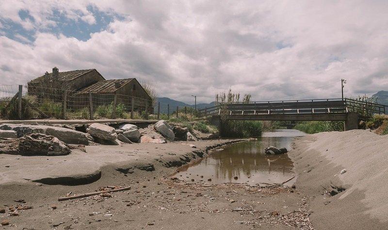 petit pont plage de san pellegrino