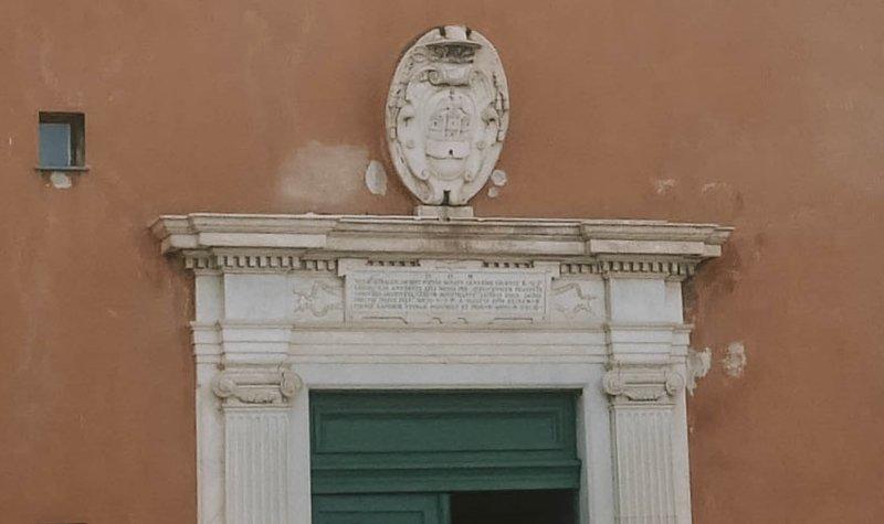 portail marbre cathédrale ajaccio