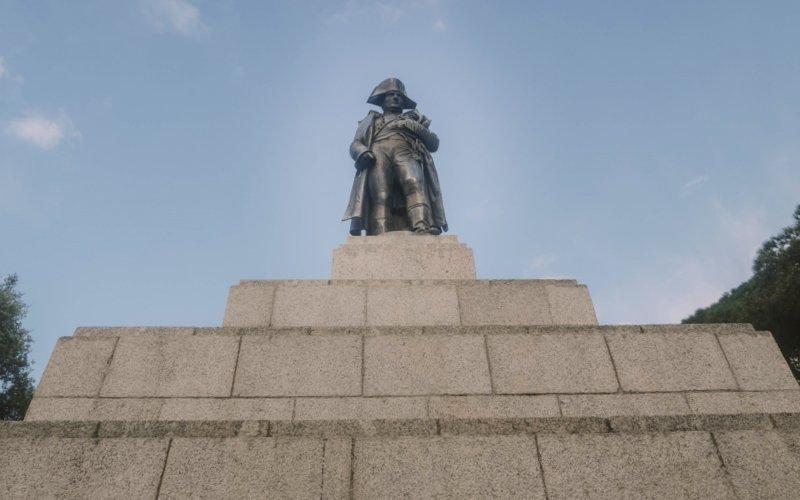 statue napoleon place austerlitz