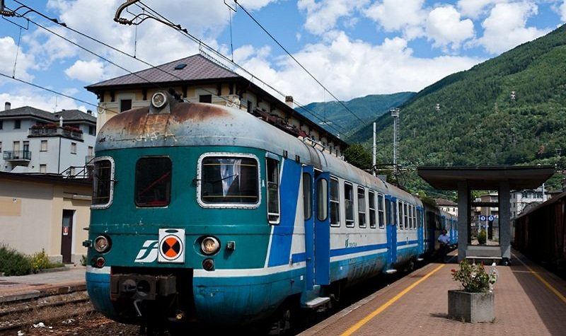 train regionale italie
