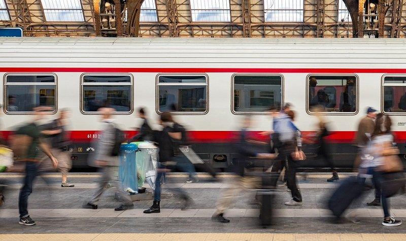 visiter l'italie en train
