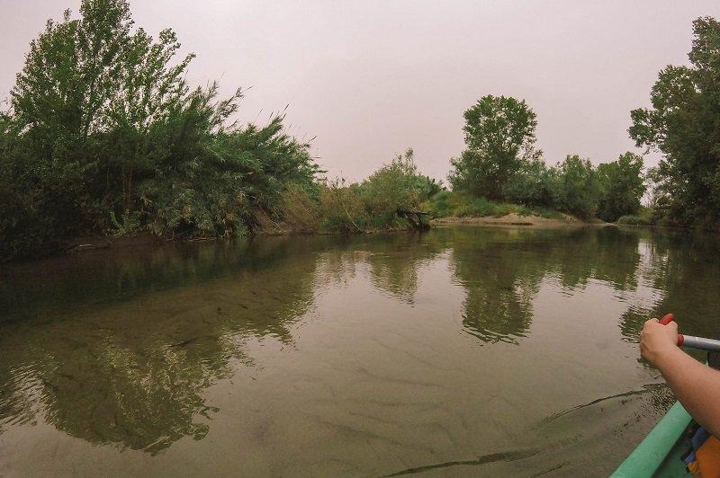 canoe sur le golo