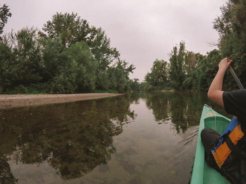 kayak sur le golo corse