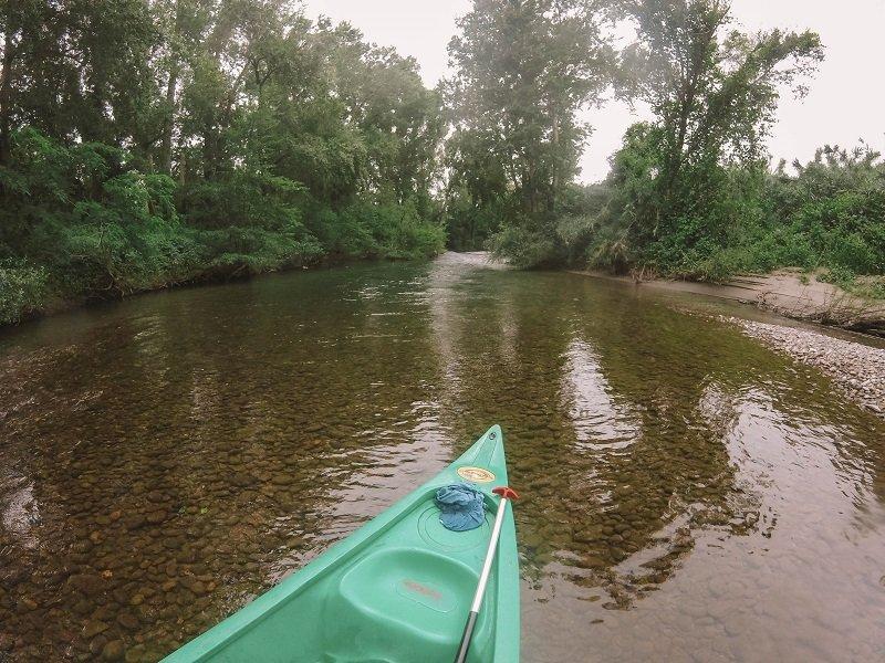 kayak sur le golo en corse