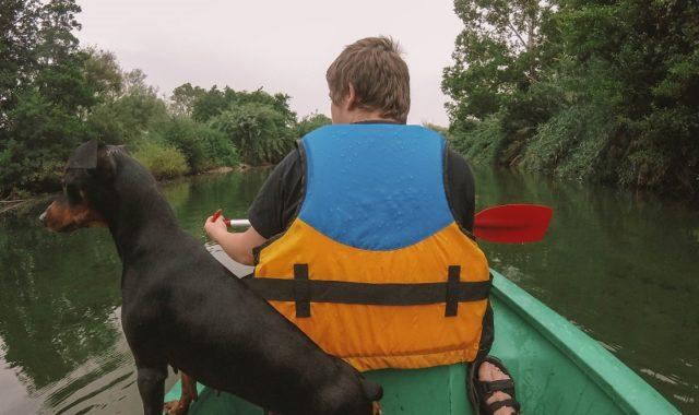 kayak sur le golo