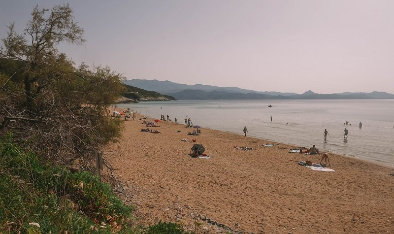 plage sable Farinole