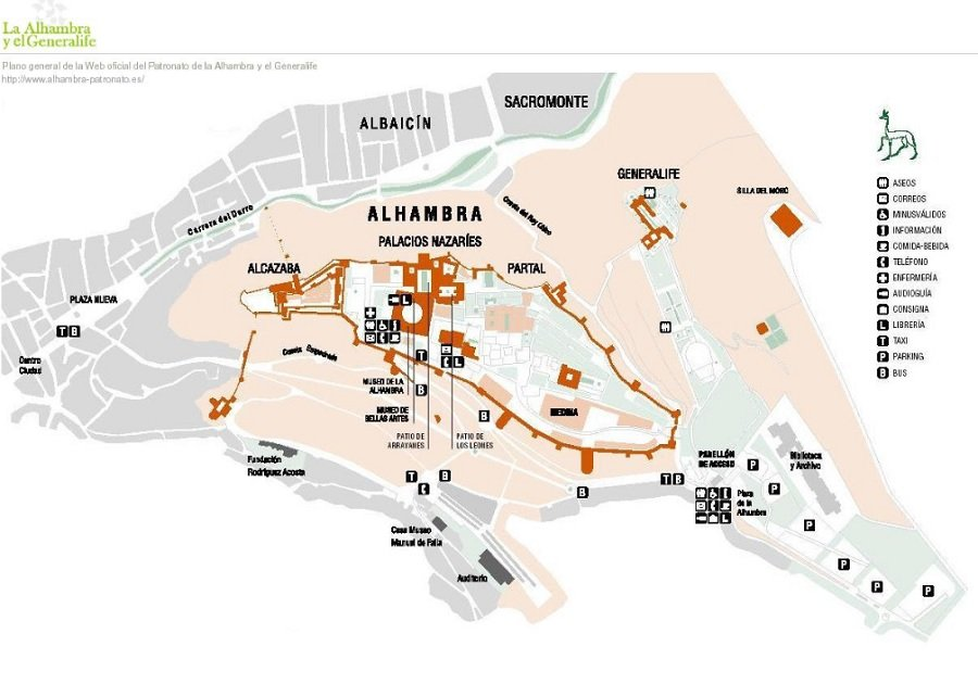 visiter l'alhambra
