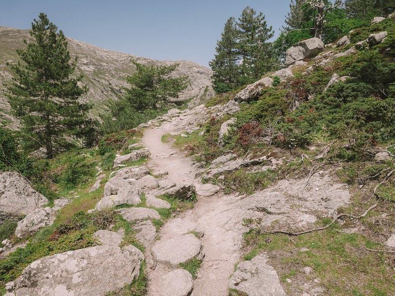 randonnée lac de crena