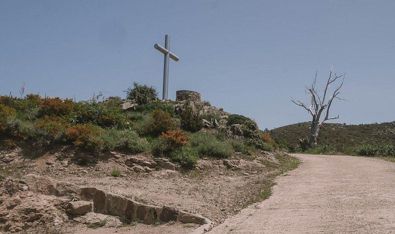 croix en fer lac de creno