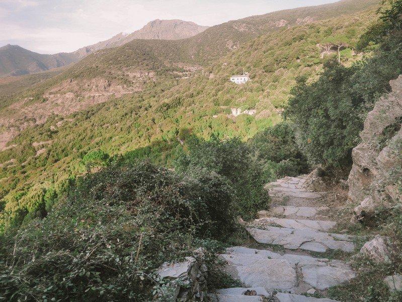escalier de nonza