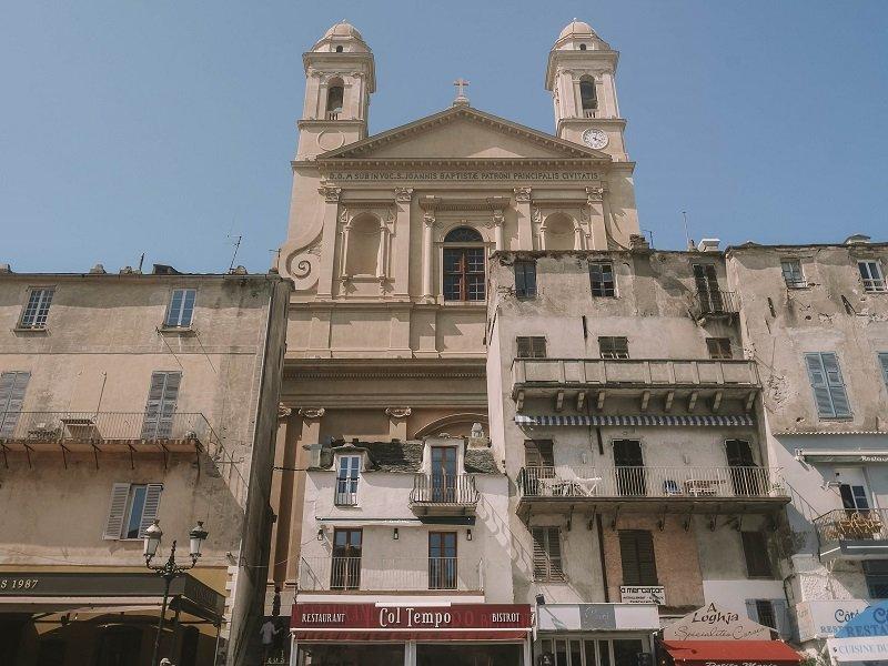 église saint jean baptiste de bastia