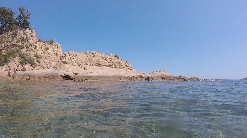 rochers plage de canella