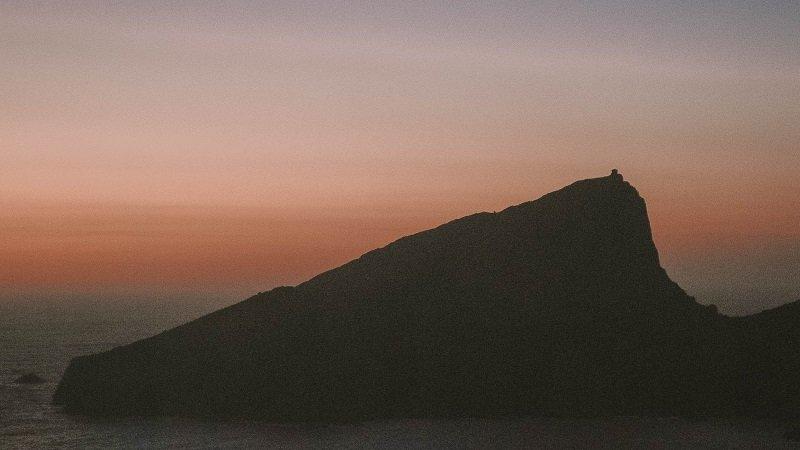 coucher de soleil capo rosso