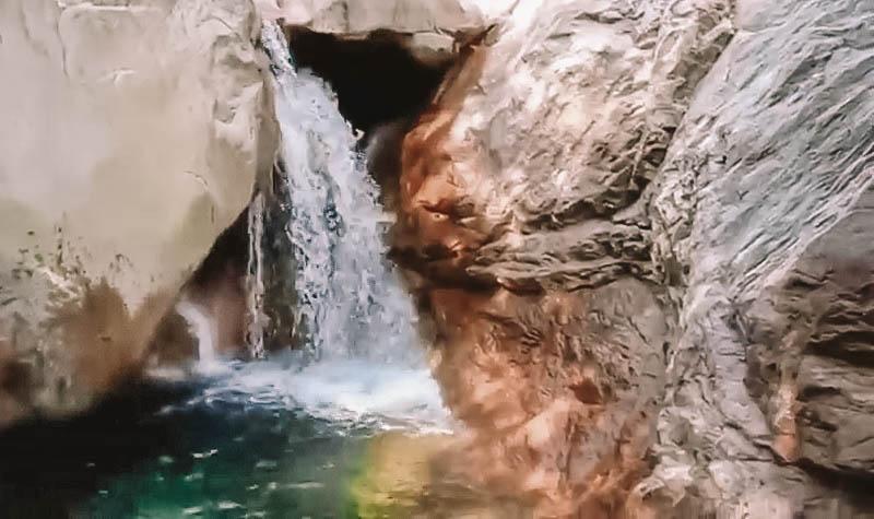 cascade gorges de la lonca