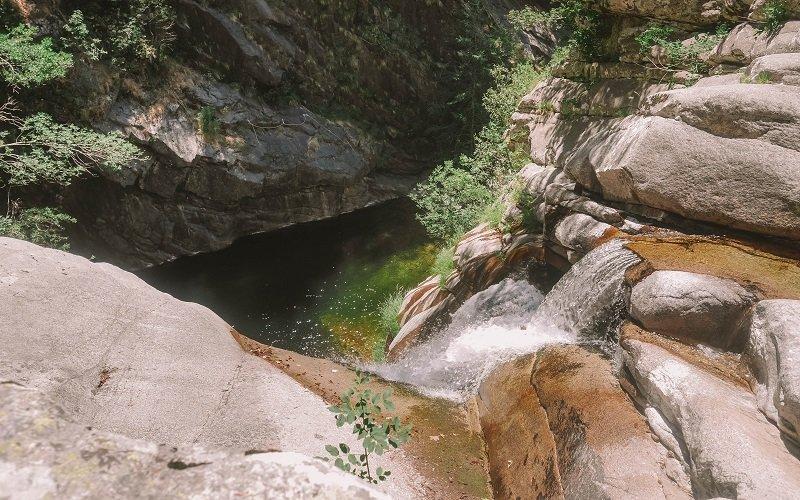 cascade de la Valla Scarpa