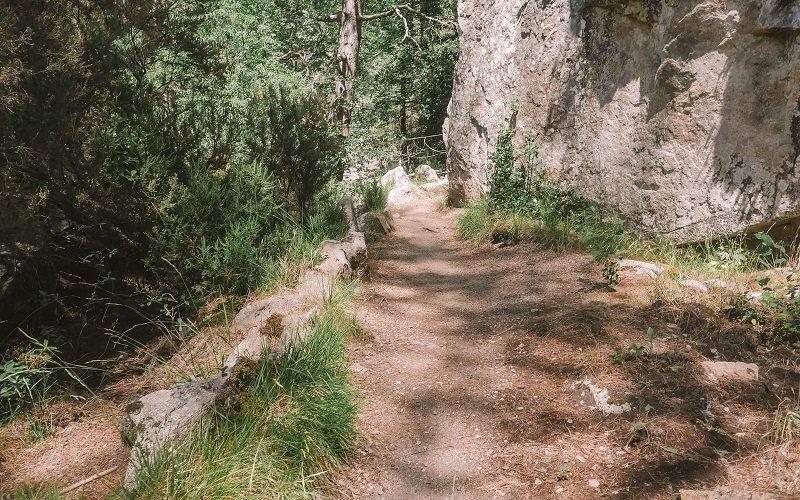 visiter les cascades d'aitone