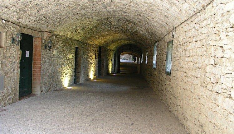 tunnel castellina in chianti