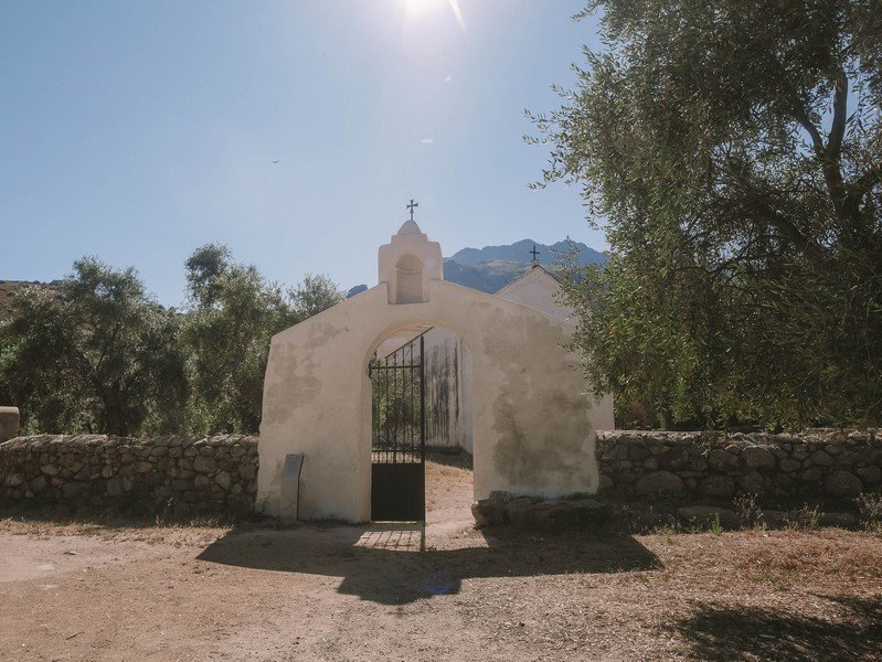 entrée chapelle sainte restitude
