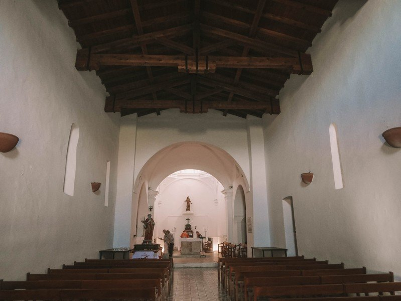 interieur chapelle sainte restitude