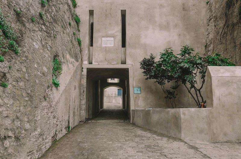 entrée citadelle de Calvi