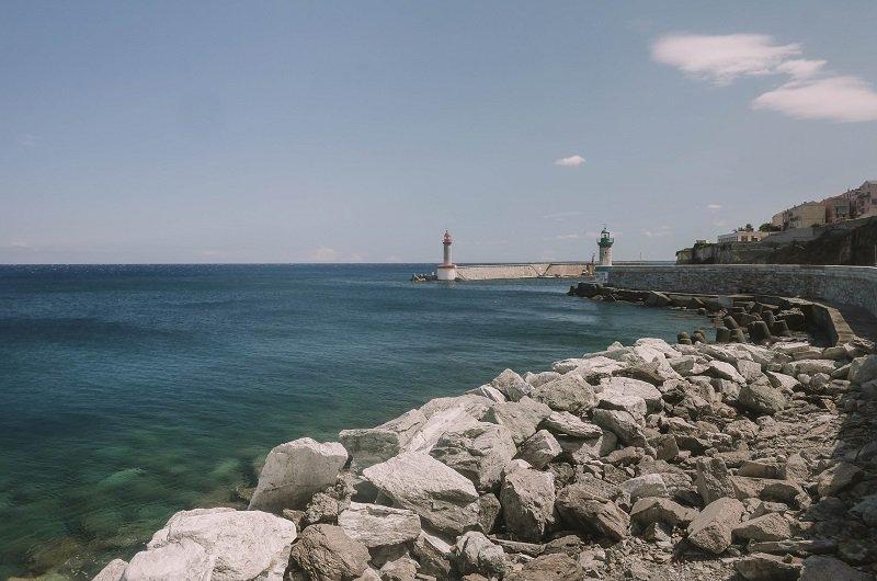 entrée vieux port de bastia