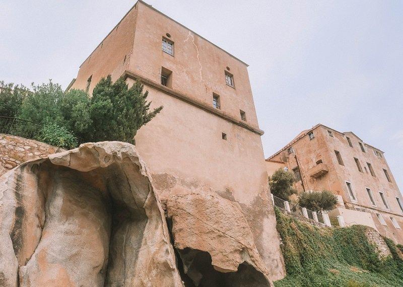 Palais des évêques de calvi