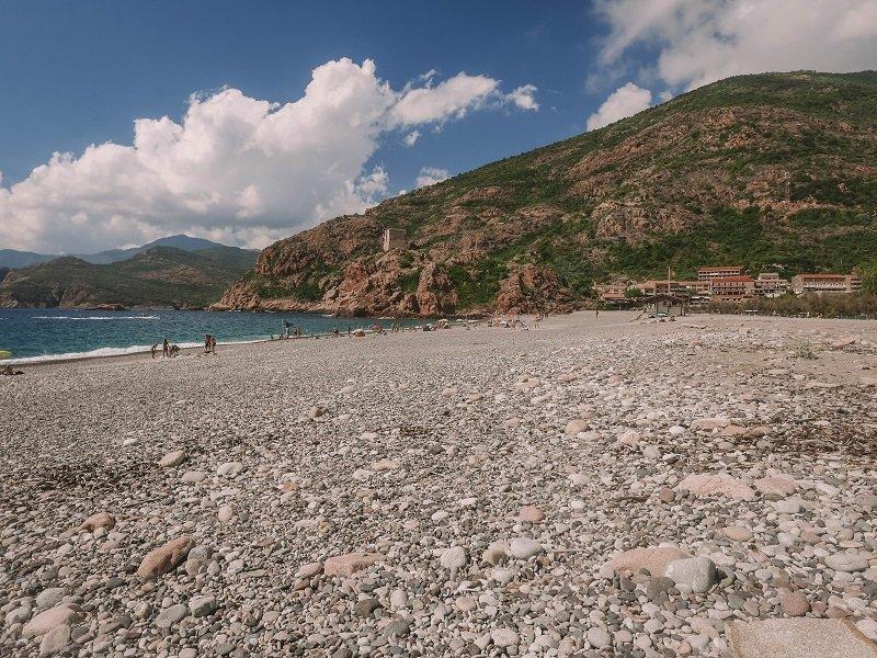 plage de porto ota