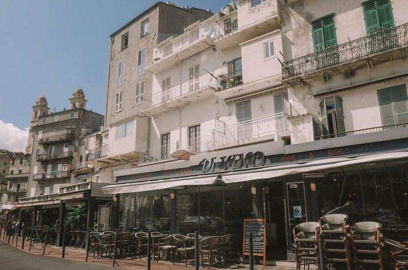 restaurants vieux port bastia