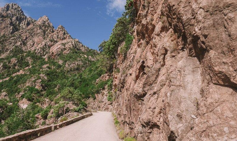 route porto evisa