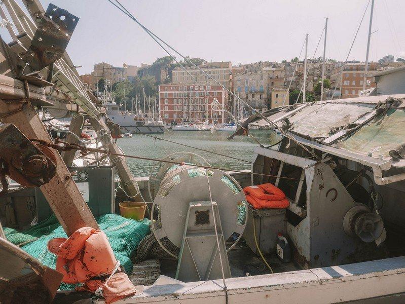 bateau peche bastia